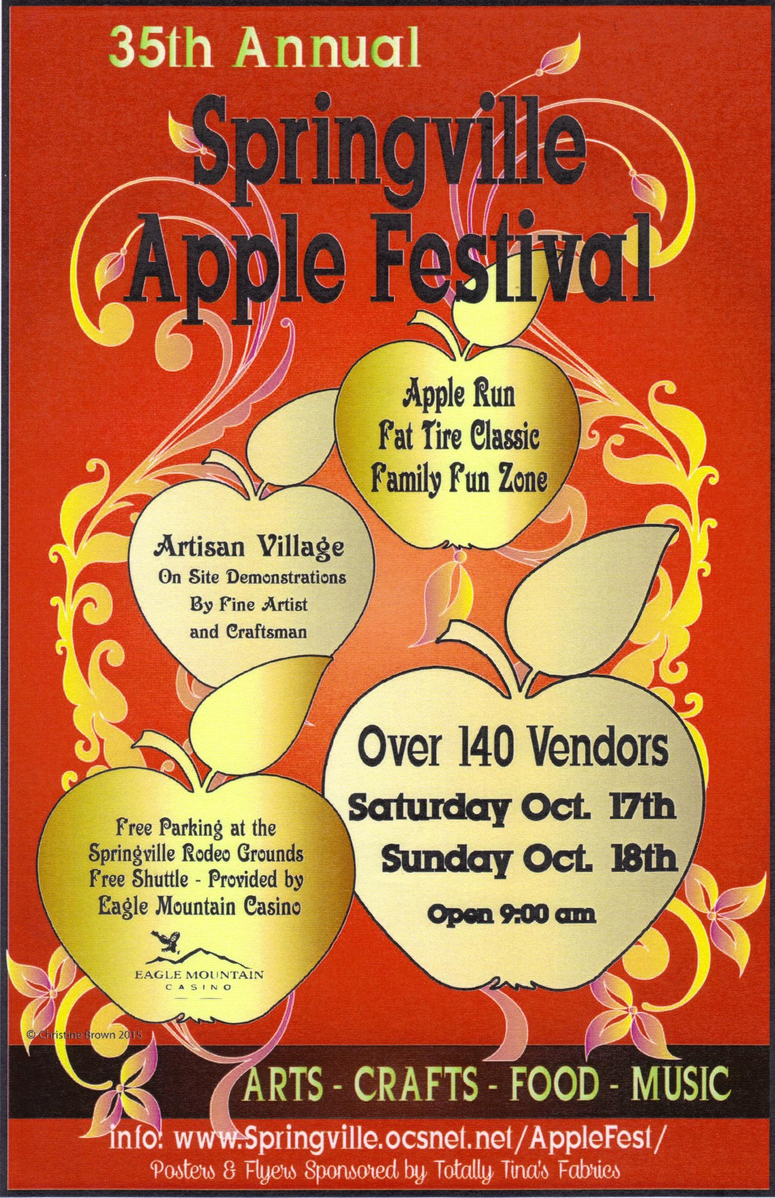 Springville California Annual Events